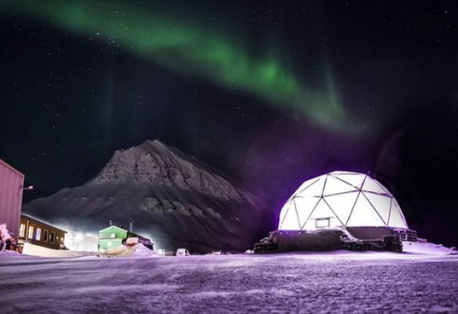 Ilustrasi Polar Permaculture Dome. (Plantimate)